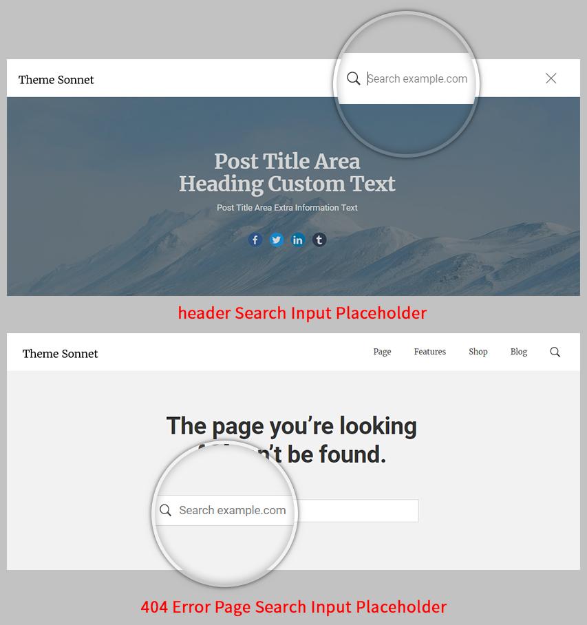 Search example.com Screenshot.