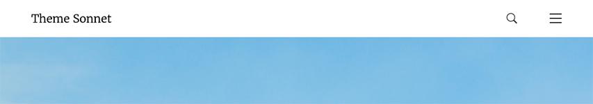 The Desktop Main Menu Search Icon for in the Desktop header version 3.
